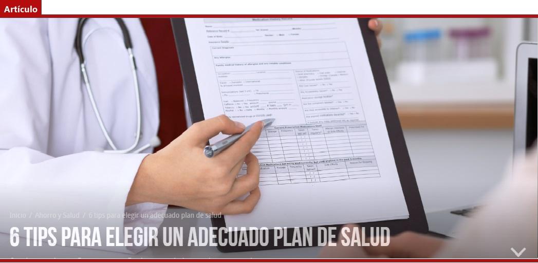 Tabla de Factores de Isapre elegir plan salud